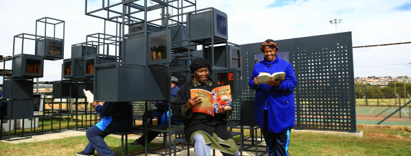 To Commemorate Nelson Mandela Month Today Massmart Launched Its Second Urban Bookshelf In Alexandra Johannesburg The Project Which Is Aimed At